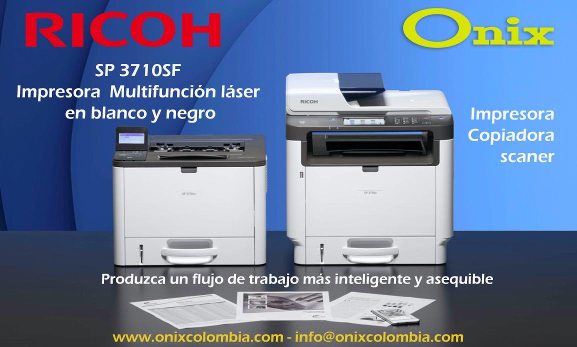 Impresora Multifuncional SP 3710