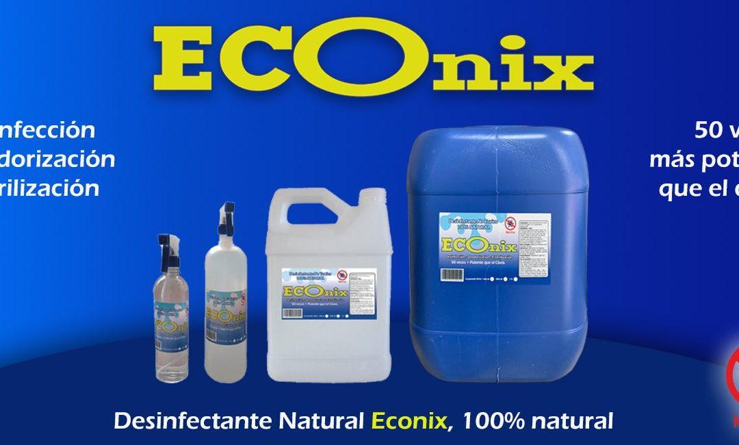 Desinfectante 100% Natural Econix, una gran alternativa