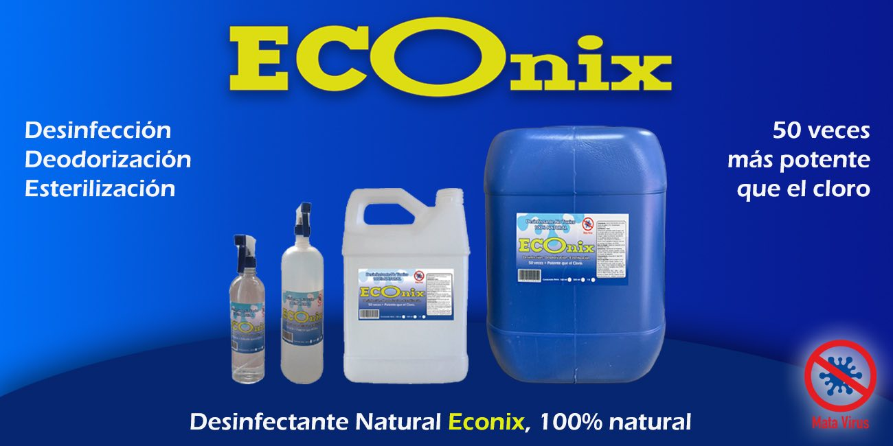 desinfectante natural econix